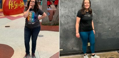 Michelle Anderson weight loss journey